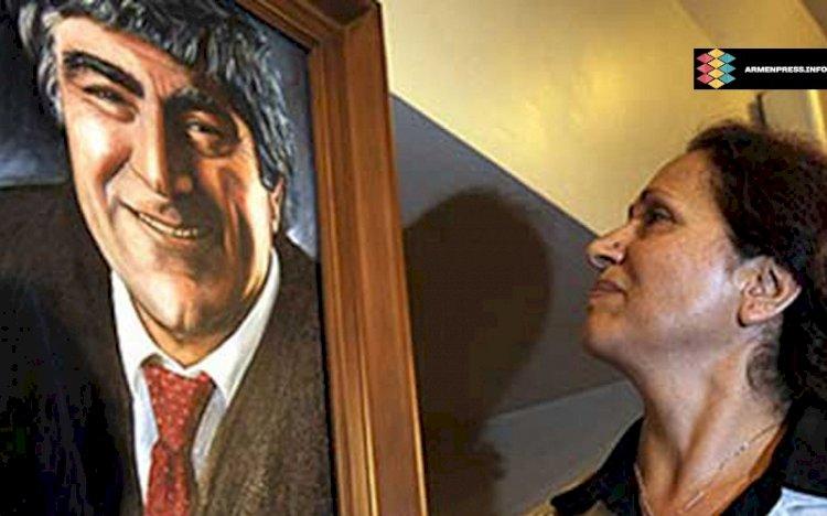 В Турции угрожают убить вдову Гранта Динка