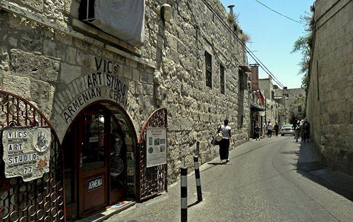 Армянский квартал в Израиле фото 1