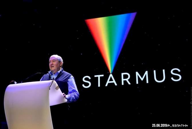 В Армении планируется провести VI Международный фестиваль науки и искусства STARMUS