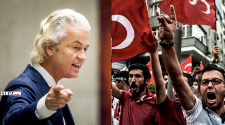«Любите Эрдогана!?, вон из Голландии» - депутат парламента Нидерландов Герт Вилдерс