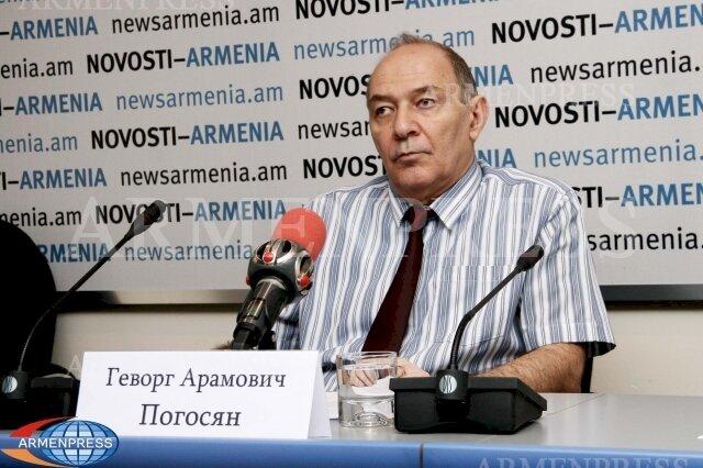 «Кому-то очень хочется Восточную Армению оторвать от России и передать под турецкий контроль» - Армянский академик Геворг Погосян