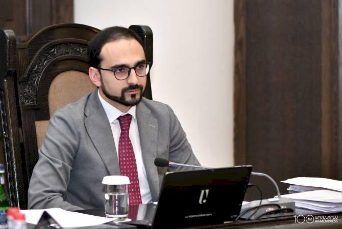 Армения и Иран работают над коридором Персидский залив – Черное море - и.о. вице-премьера Тигран Авинян