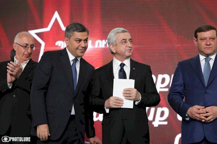 Мнение Сержа Саргсяна о победе Пашиняна не имеет отношения к блоку «Честь имею» - пресс-секретарь блока Сос Акопян