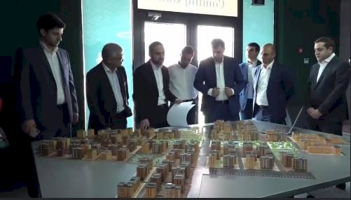 И. о. Вице-премьера Армении Тигран Авинян совершил сегодня рабочий тур по стройплощадкам Еревана (ВИДЕО