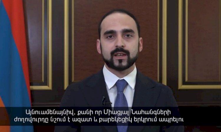 Посольство США в Армении поблагодарило вице-премьера Армении Тиграна Авиняна за теплые пожелания по случаю Дня независимости США