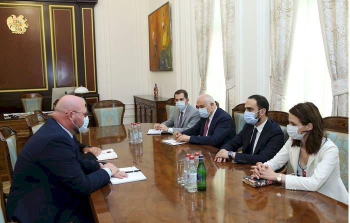 Тигран Авинян принял старшего управляющего директора группы компаний Lufthansa