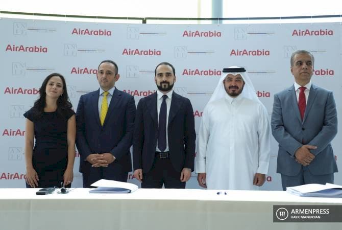 В Армении появится национальная бюджетная авиакомпания: подписано соглашение с Air Arabia