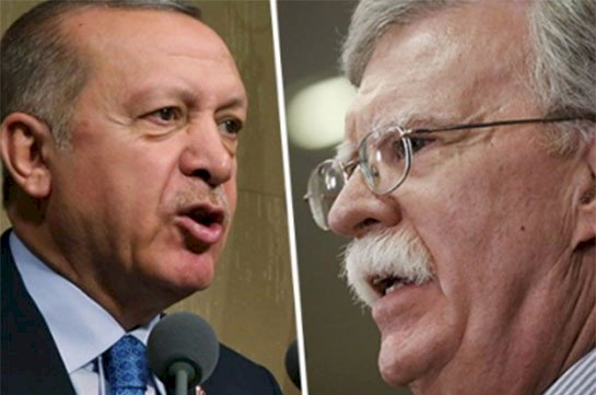 Джон Болтон приглашает Армению присоединиться к антиэрдогановской инициативе.