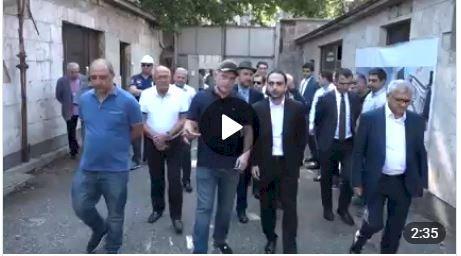 В Ереване дан старт программы реконструкции 33-го квартала (Фирдуси) - видео