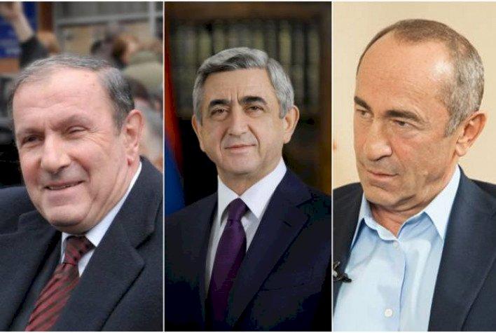 Почему все ещё живы Тер-Петросян, Кочарян и Саргсян?