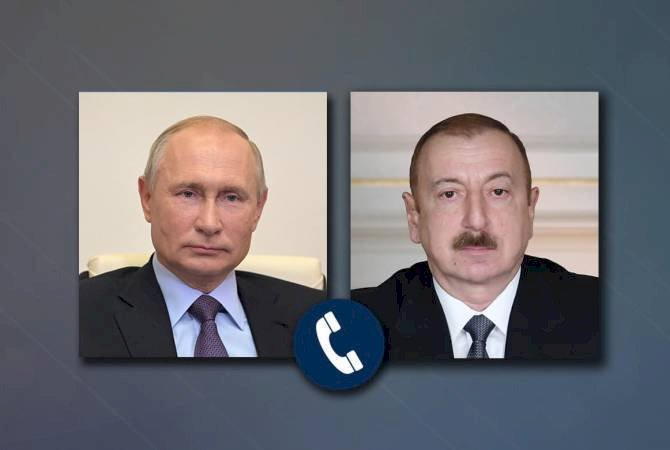 Владимир Путин и Ильхам Алиев провели телефонный разговор
