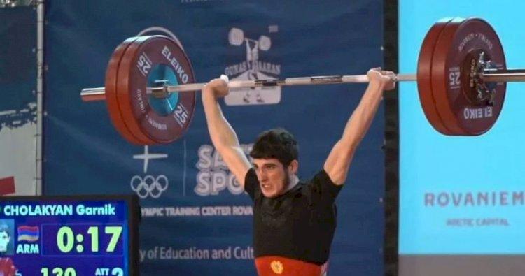 Армянский тяжелоатлет завоевал титул Чемпиона Европы